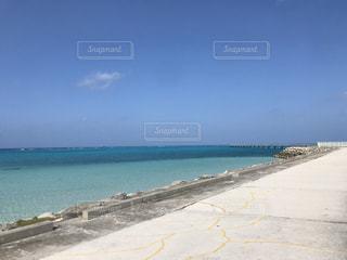 海と青空の写真・画像素材[3025280]