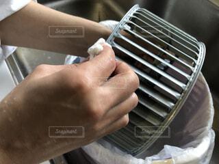 換気扇の掃除の写真・画像素材[3891419]