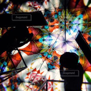万華鏡の中に…@三河工芸ガラス美術館の写真・画像素材[3029641]
