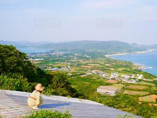 2つの海が見える場所@奄美大島の写真・画像素材[3029649]
