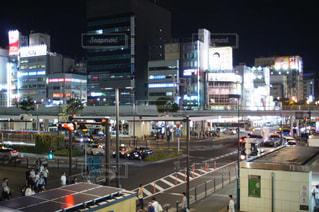 川崎駅前の風景の写真・画像素材[3032399]