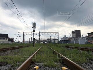 線路は続くよの写真・画像素材[3032401]