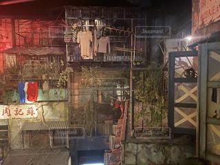 九龍城がモチーフになったゲームセンターの写真・画像素材[3030321]