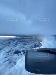 飛行機からですの写真・画像素材[3661327]