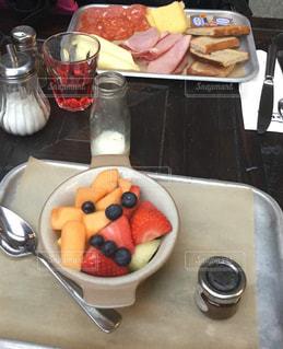朝食の風景の写真・画像素材[3134133]