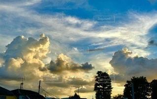 空の雲の写真・画像素材[3637417]