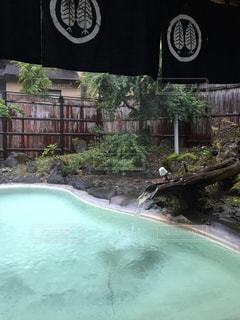 露天風呂の写真・画像素材[3105793]