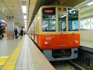 阪神電車 急行8000系の写真・画像素材[3588436]