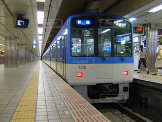 阪神電車 普通5000系 の写真・画像素材[3588443]