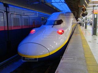 新幹線 MAXの写真・画像素材[3592246]