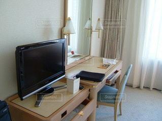 ホテルの部屋の写真・画像素材[3595707]
