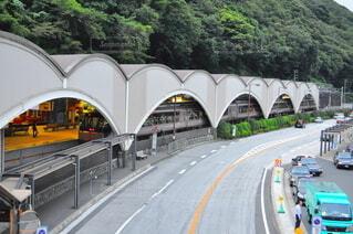 箱根湯本 道路の写真・画像素材[3631491]