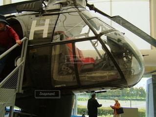 ヘリコプターの写真・画像素材[3639962]