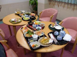 出産 お祝い膳の写真・画像素材[3640434]