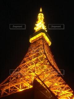 東京タワー ライトアップの写真・画像素材[3809859]
