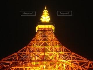 東京タワー ライトアップの写真・画像素材[3809858]