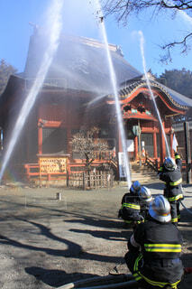 消防訓練の写真・画像素材[3854531]