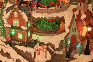 クリスマス 街並みの写真・画像素材[3967364]
