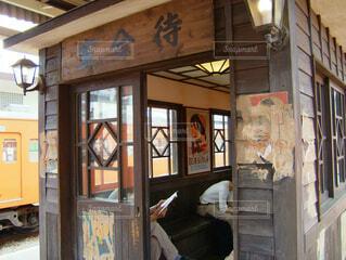 青梅駅 昭和レトロの写真・画像素材[4002694]