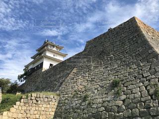 石垣の名城 丸亀城の写真・画像素材[3033868]