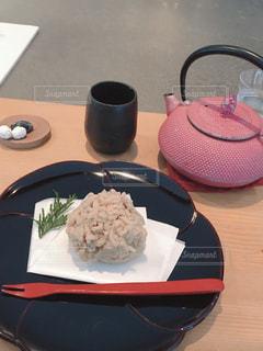 お茶と和菓子の写真・画像素材[3041746]