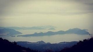 天気の良い日は四国も九州も見えますよの写真・画像素材[3066449]