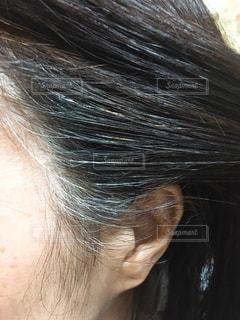 髪の毛の写真・画像素材[3137716]