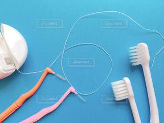 歯磨きセットの写真・画像素材[3192766]