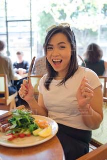 Let's eatの写真・画像素材[3057457]