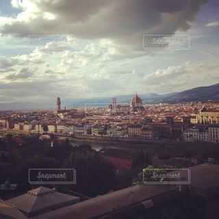 都市の景色を望む峡谷の写真・画像素材[3061368]