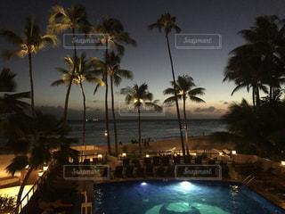 ハワイのリゾートの写真・画像素材[3063794]