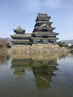 松本城の勇姿2の写真・画像素材[3070561]