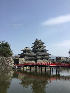 松本城の勇姿1の写真・画像素材[3070562]