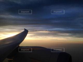 ドリームライナーの主翼の写真・画像素材[3072731]