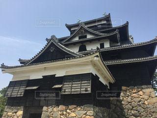松江城の写真・画像素材[3083427]