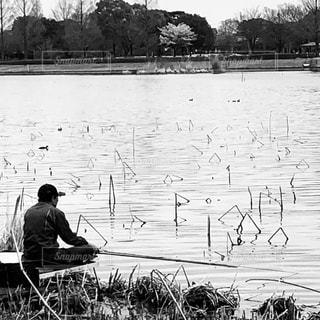 釣り名人の写真・画像素材[3060240]