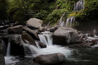 滝の写真・画像素材[3063470]