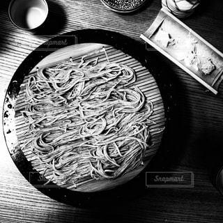 蕎麦五号(二人前)の写真・画像素材[3564399]
