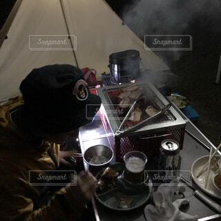 楽しい夕飯の写真・画像素材[3765574]