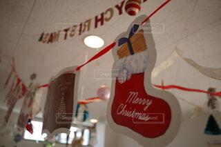 クリスマスの飾りつけの写真・画像素材[3931753]