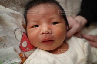 第一子無事出産の写真・画像素材[3990975]