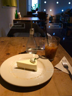 カフェにての写真・画像素材[151502]