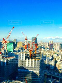 工事する街の写真・画像素材[287688]