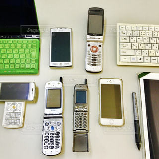 電話たちの写真・画像素材[309502]