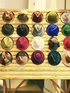 帽子たちの写真・画像素材[314888]