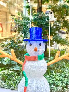 雪だるまのオブジェの写真・画像素材[319155]