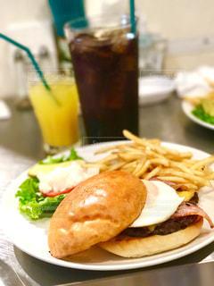 ハンバーガーの写真・画像素材[492258]
