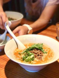 お気に入りの坦々麺の写真・画像素材[743577]