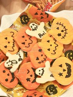 ハロウィンのお菓子の写真・画像素材[835890]