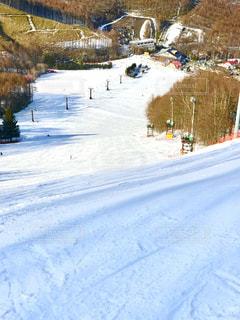スキー場の斜面 - No.932400